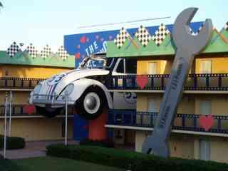 The Love Bug Hotel Herbie1